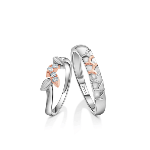Beautiful Platinum Love Bands for Couple 20PTLBH17/20PTLBH18