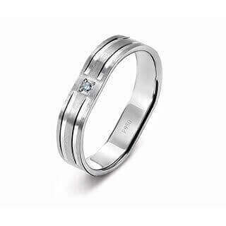 Amazing Platinum Ring for Men 19PTMJR23