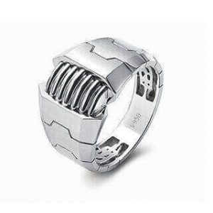 Amazing Platinum Ring for Men 19PTMUR24