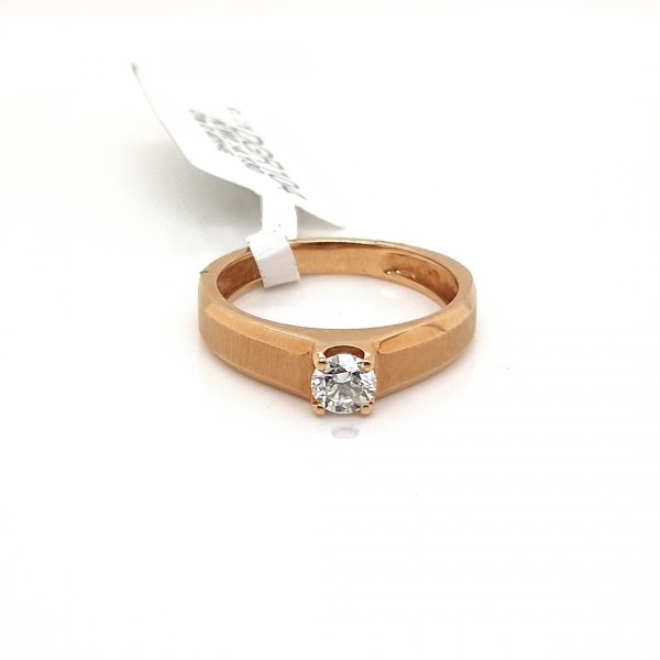 Solitaire Diamond Engagement Ring for Men DGR20