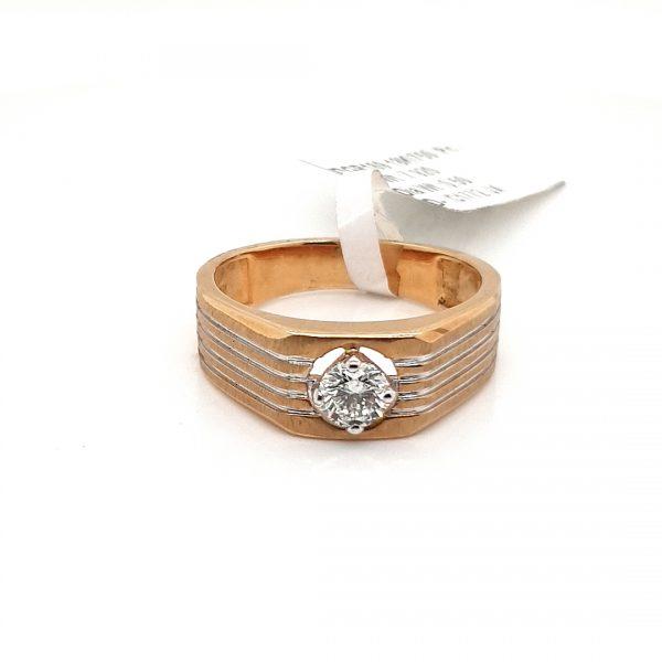 Solitaire Diamond Engagement Ring For Men DGR169