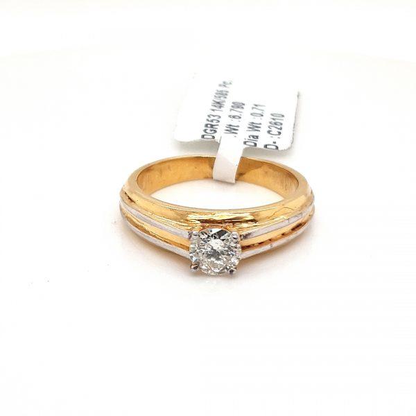 Solitaire Diamond Engagement Ring for Men DGR53