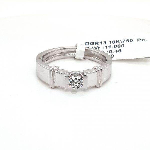 Solitaire Diamond Engagement Ring for Men DGR13