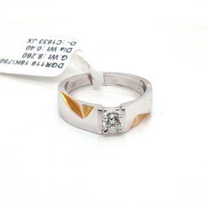 Solitaire Diamond Engagement Ring for Men DGR119