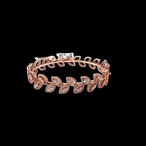Stunning Women Diamond Bracelets DKARA176