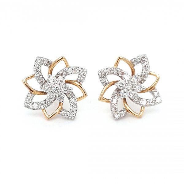 Diamond Tops Earrings For Women DT224