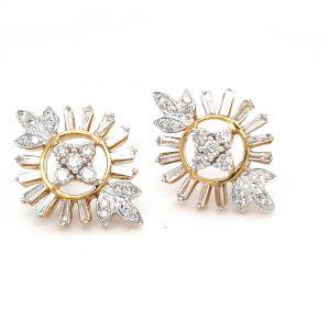 Diamond Tops Earrings For Women DT156
