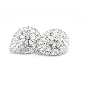 Diamond Tops Earrings For Women DT232