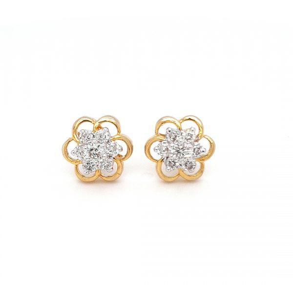 Diamond Tops Earrings For Women DT80