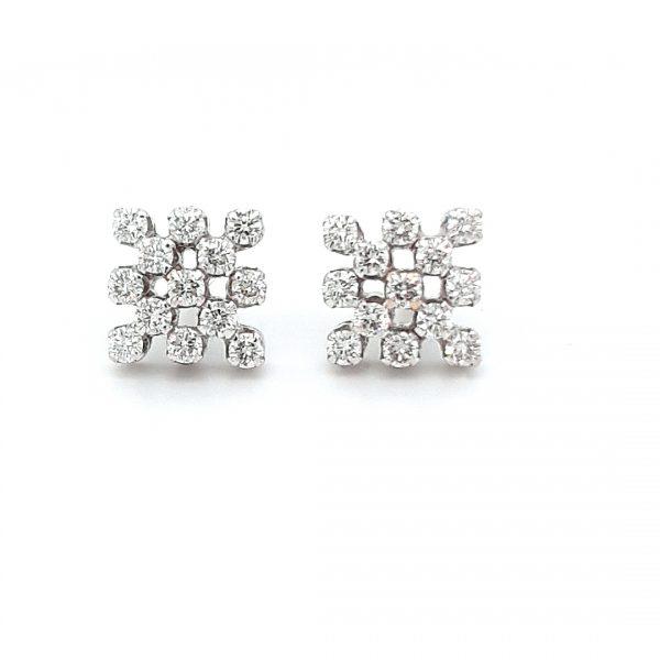 Diamond Tops Earrings For Women DT352
