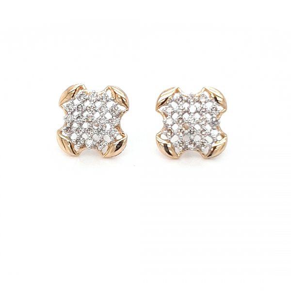 Diamond Tops Earrings For Women DT502