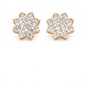 Diamond Tops Earrings For Women DT499