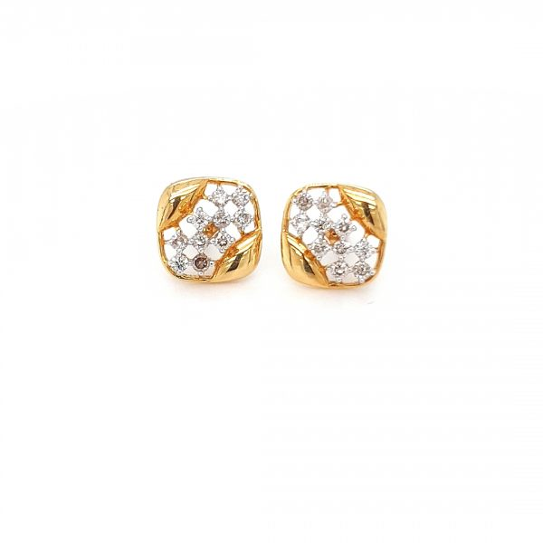 Impressive Solitaire Diamond Earrings DT280