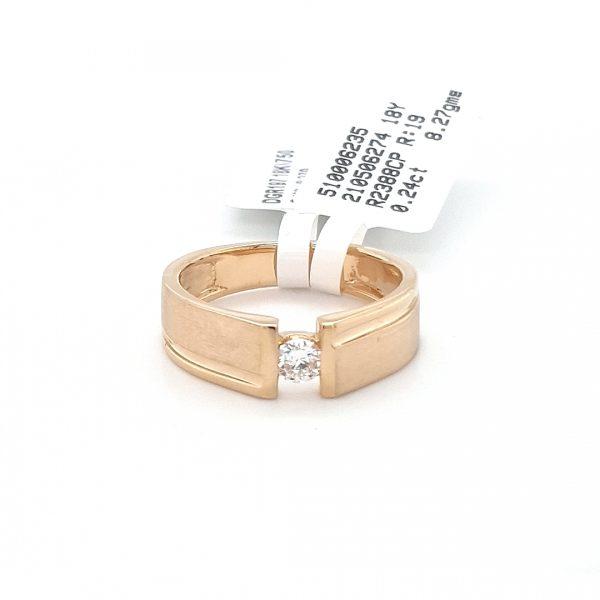 Solitaire Diamond Engagement Ring For Men DGR197