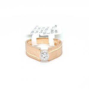 Solitaire Diamond Engagement Ring For Men DGR172