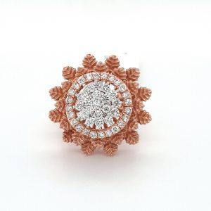 Cocktail Diamond Ring For Women DLR611