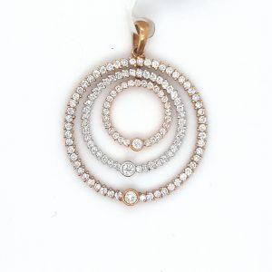 Adorable Diamond Pendant for Women