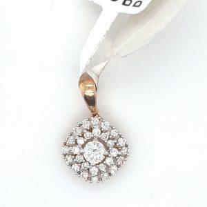 Attractive Diamond Pendant for Women