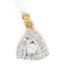 Unique Diamond Pendant for Women