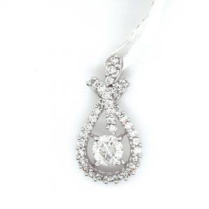 Precious Diamond Pendant for Women