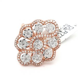 Dazzling Cocktail Diamond Ring For Women