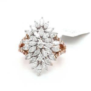 Latest Diamond Ring For Women