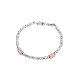 Impressive Platinum Bracelet for Women 20PTEBB06