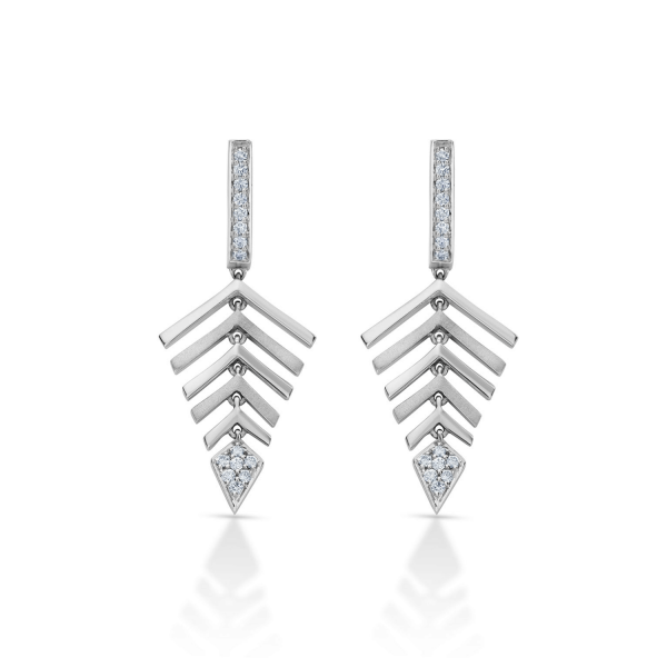 Flawless Platinum Earring for Women 20PTEBE01