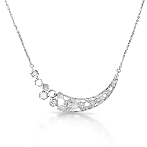 Dazzling Platinum Necklace for Women 20PTEEN10