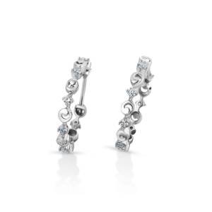 Flawless Platinum Earring for Women 20PTEHE14
