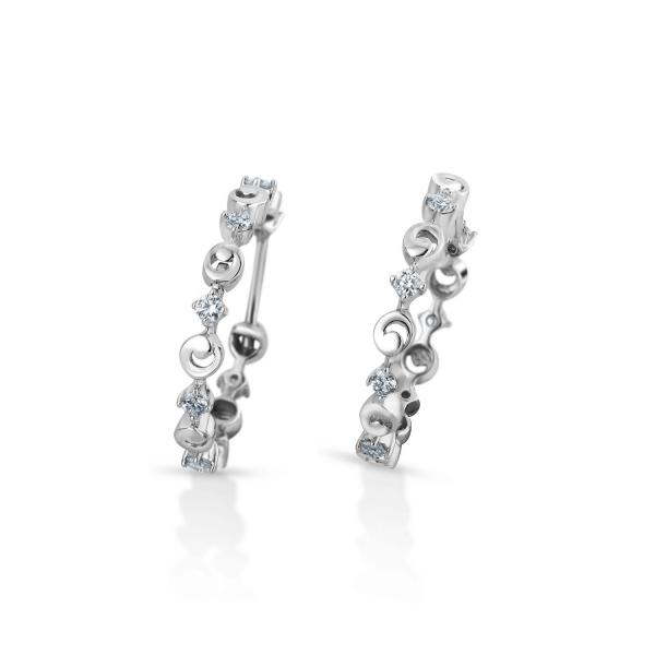 Flawless Platinum Earring for Women 20PTEHE14