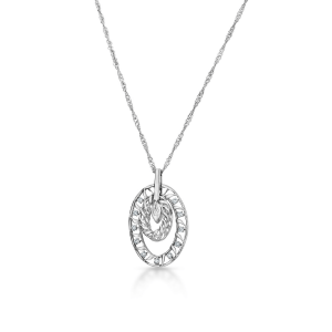 Awesome Platinum Pendant for Women 20PTEHP15