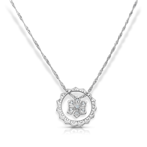 Awesome Platinum Pendant for Women 20PTEHP16
