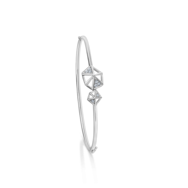 Impressive Platinum Bracelet for Women 20PTEKGB18