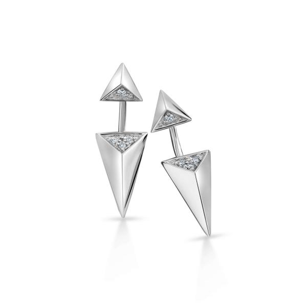 Flawless Platinum Earring for Women 20PTEKGE19