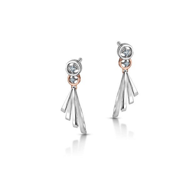 Flawless Platinum Earring for Women 20PTEKGE20