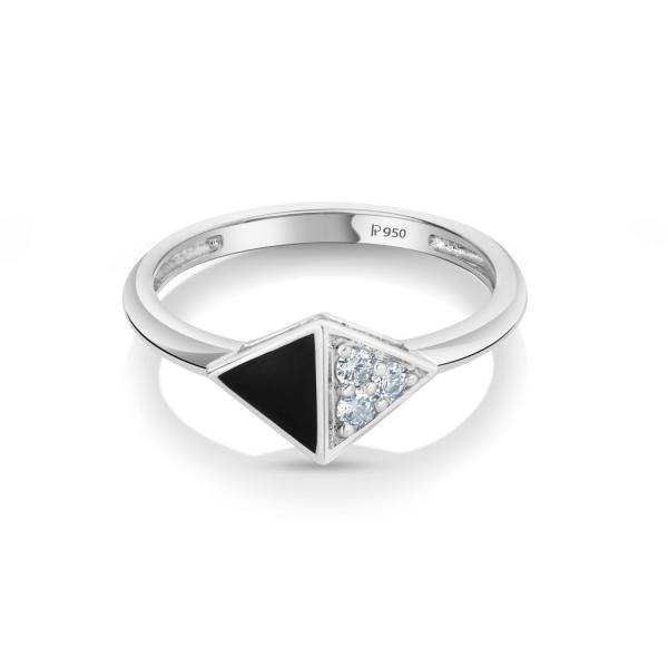 Gorgeous Platinum Ring for Women 20PTEKGR21