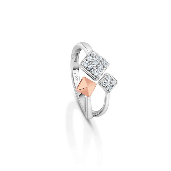 Gorgeous Platinum Ring for Women 20PTEKGR22