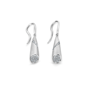 Flawless Platinum Earring for Women 20PTEKPE24