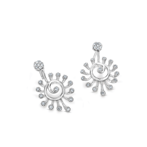 Flawless Platinum Earring for Women 20PTEKPE25