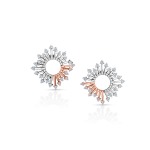 Flawless Platinum Earring for Women 20PTEOE26
