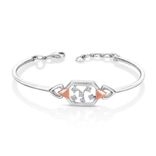 Impressive Platinum Bracelet for Women 20PTEPB29