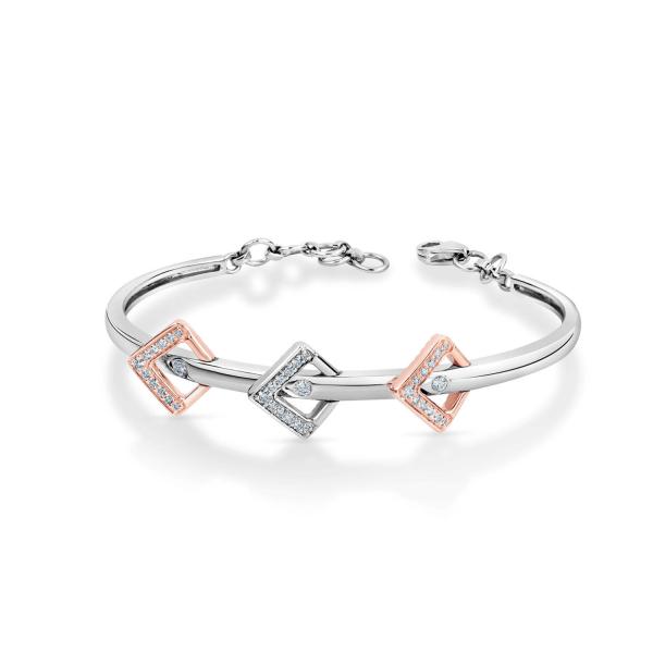 Impressive Platinum Bracelet for Women 20PTEPB30