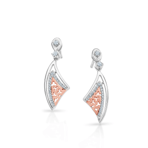 Flawless Platinum Earring for Women 20PTEPE28