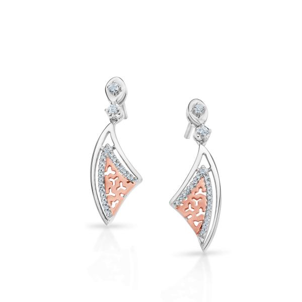 Flawless Platinum Earring for Women 20PTEPE28