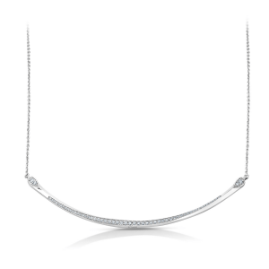 Dazzling Platinum Necklace for Women 20PTEUN42