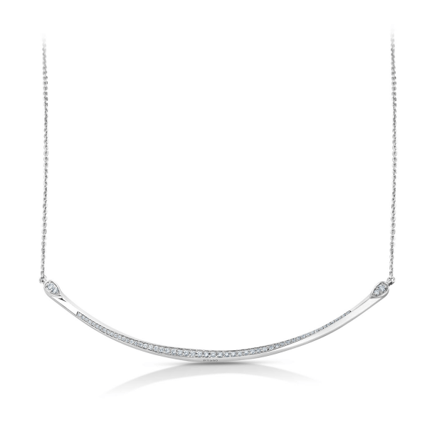 Dazzling Platinum Necklace for Women 20PTEUN42