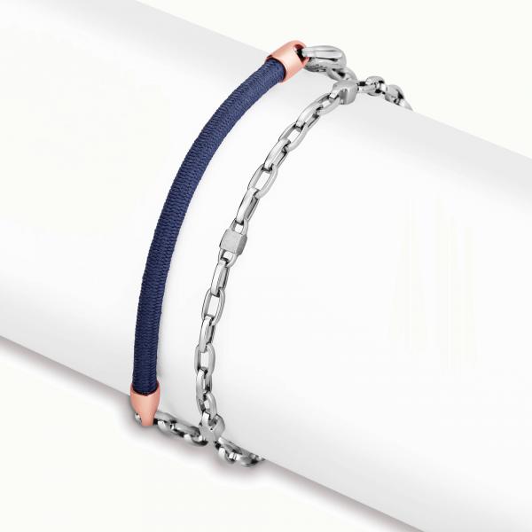 Stunning platinum bracelets for men 20PTMBB30