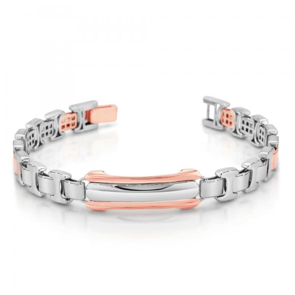 Stunning platinum bracelets for men 20PTMJB16