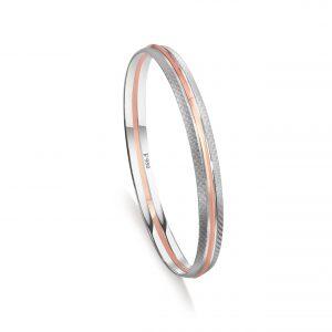 Stunning platinum bracelets for men 20PTMOK01
